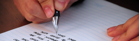 """""""Writing"""" by Jeffrey James Pacres (CC BY-NC-ND)"""